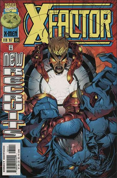 X-Factor (1986) 131-A by Marvel