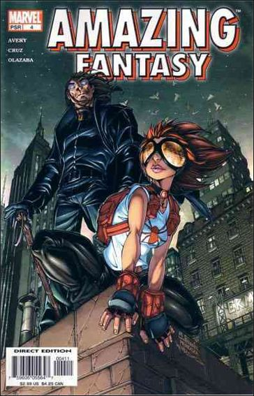 Amazing Fantasy (2004) 4-A by Marvel