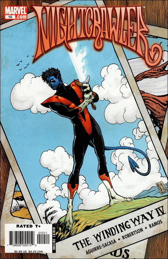 Nightcrawler (2004) 10-A by Marvel
