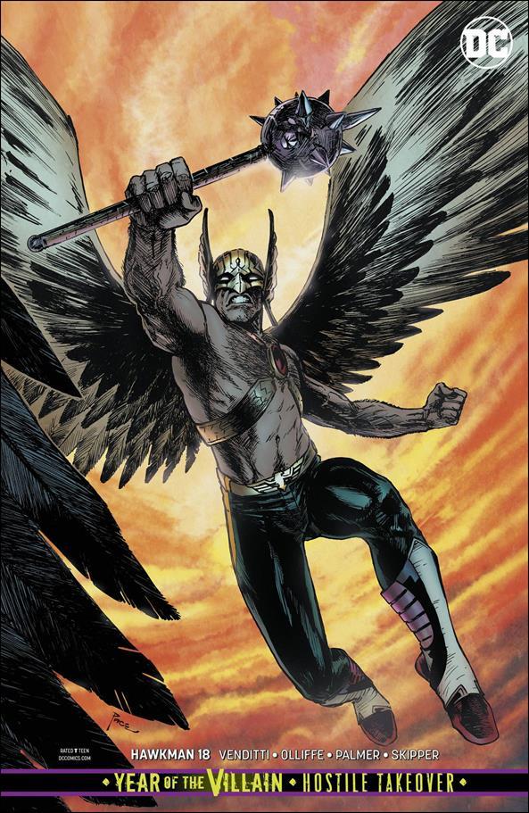 Hawkman (2018) 18-B by DC