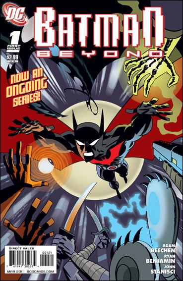Batman Beyond (2011) 1-B by DC
