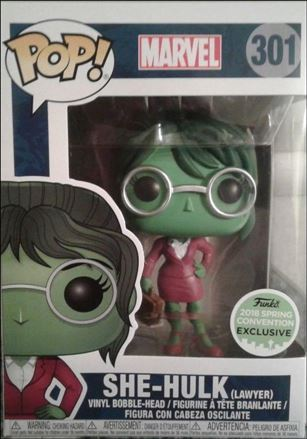 POP! Marvel She-Hulk (Lawyer) 2018 Spring Convention Exclusive