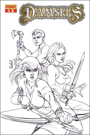 Damsels 4-C by Dynamite Entertainment