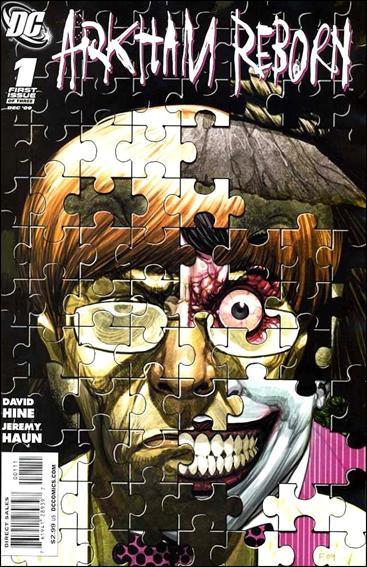 Arkham Reborn 1-A by DC