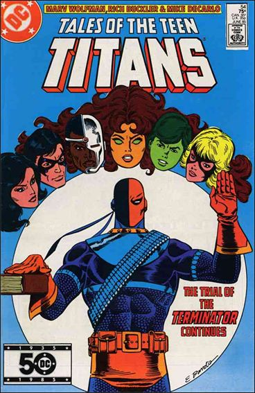 Tales of the Teen Titans 54-A by DC