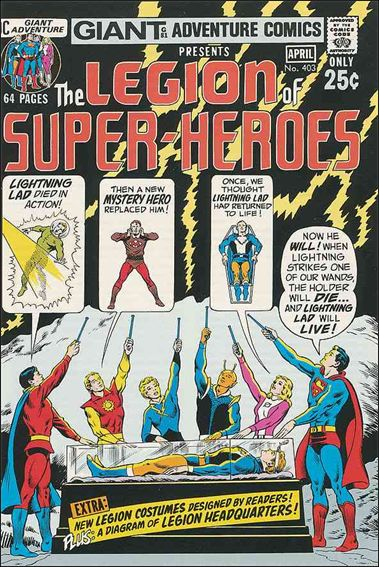 Adventure Comics (1938) 403-A by DC