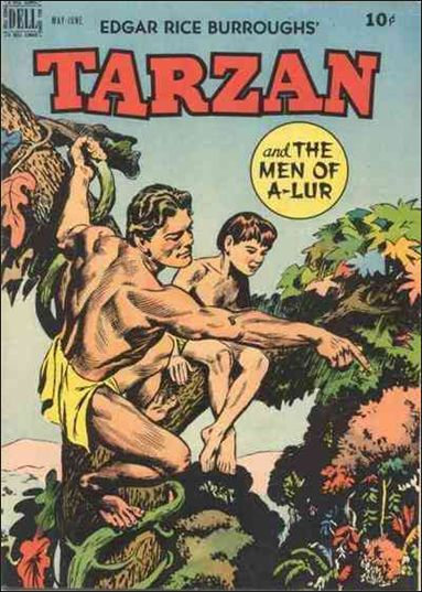 Tarzan (1948) 9-A by Dell