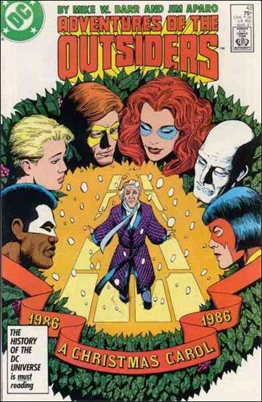 Adventures of the Outsiders 43-A by DC