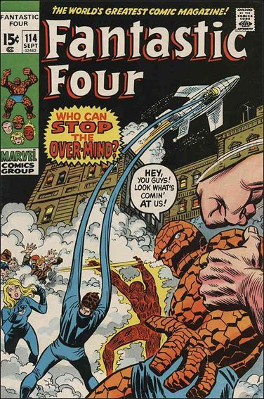 Fantastic Four (1961) 114-A by Marvel