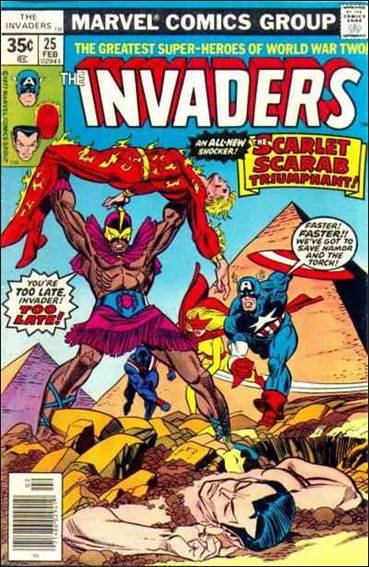 Invaders (1975) 25-A by Marvel