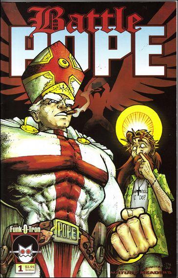 Battle Pope 1-A by Funk-O-Tron
