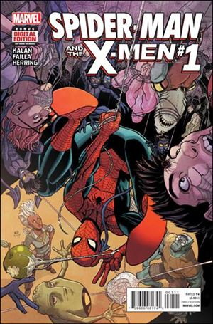 Spider-Man & the X-Men 1-A