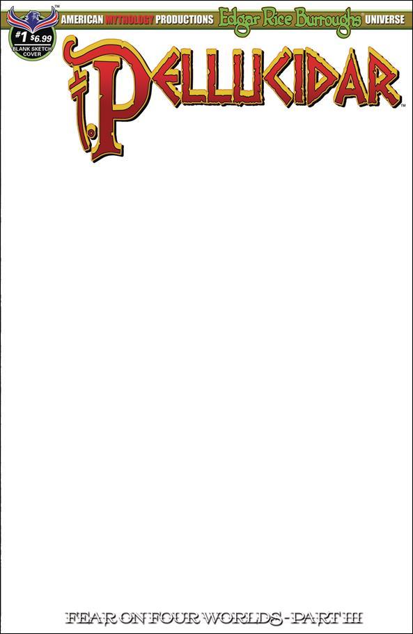Edgar Rice Burroughs Pellucidar: Fear on Four Worlds 1-C by American Mythology