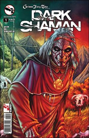 Grimm Fairy Tales Presents Dark Shaman 1-B