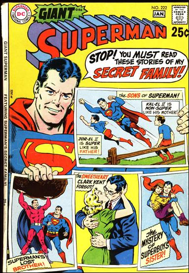 Superman (1939) 222-A by DC