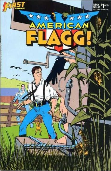 American Flagg! (1983) 40-A by First