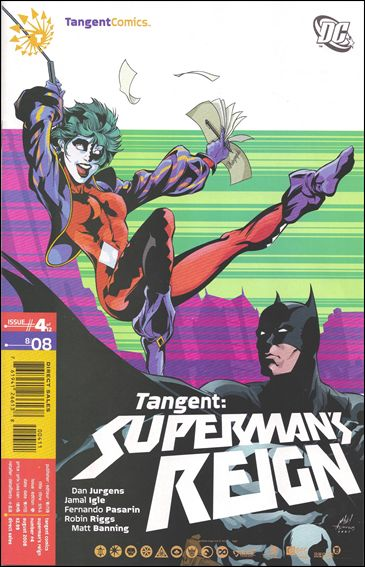 Tangent: Superman's Reign 4-A by DC