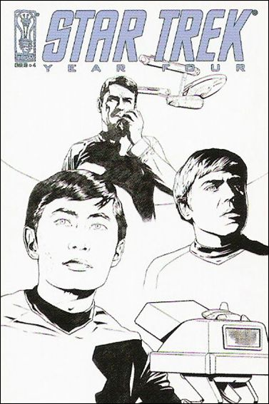 Star Trek: Year Four 4-C by IDW