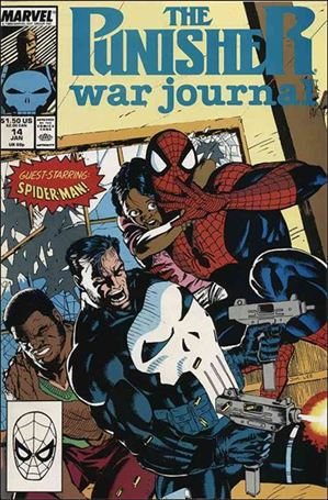 Punisher War Journal (1988) 14-A