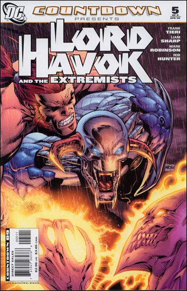 Countdown Presents: Lord Havok & the Extremists 5-A by DC