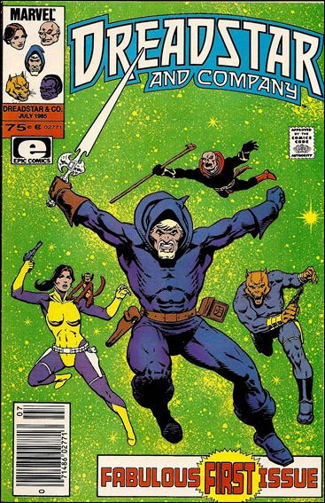 Dreadstar and Company 1-A by Epic