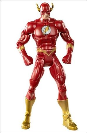 DC Universe: Signature Collection The Flash (Wally West) Loose