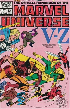 Official Handbook of the Marvel Universe (1983) 12-A
