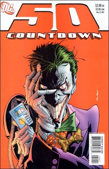 Countdown (2007) 50-A by DC