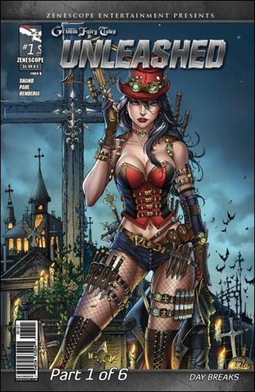 Grimm Fairy Tales Presents Unleashed  1-B by Zenescope Entertainment