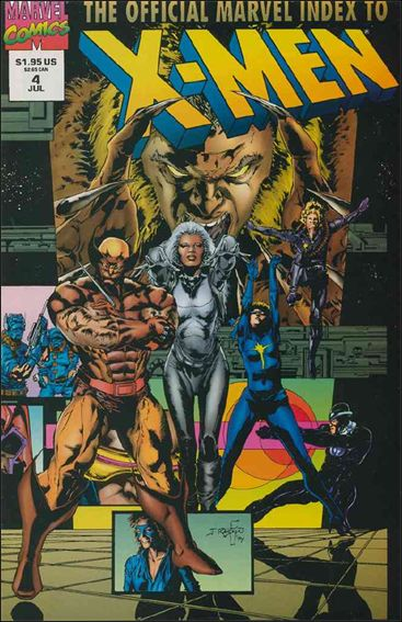 Official Marvel Index to the X-Men (1994) 4-A by Marvel
