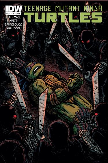 Teenage Mutant Ninja Turtles (2011) 23-B by IDW