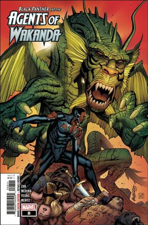 Black Panther and the Agents of Wakanda 8-A