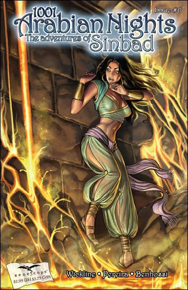 1001 Arabian Nights: The Adventures of Sinbad 6-B by Zenescope Entertainment