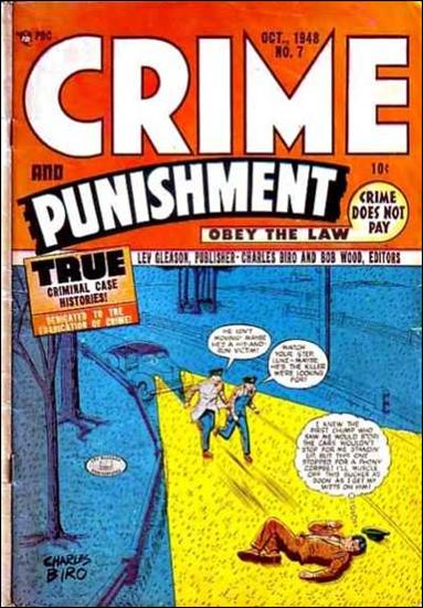 Crime and Punishment 7-A by Lev Gleason Productions
