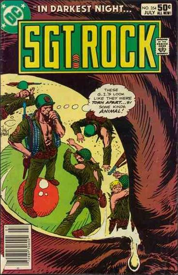 Sgt. Rock (1977) 354-A by DC