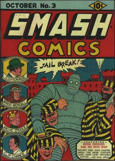 Smash Comics (1939) 3-A by Quality