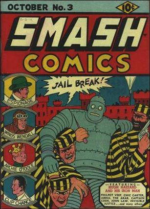 Smash Comics (1939) 3-A