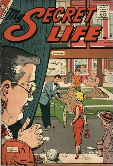 My Secret Life (1957) 24-A by Charlton