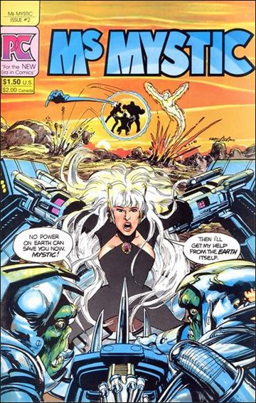 Ms. Mystic (1982) 2-A by Pacific Comics