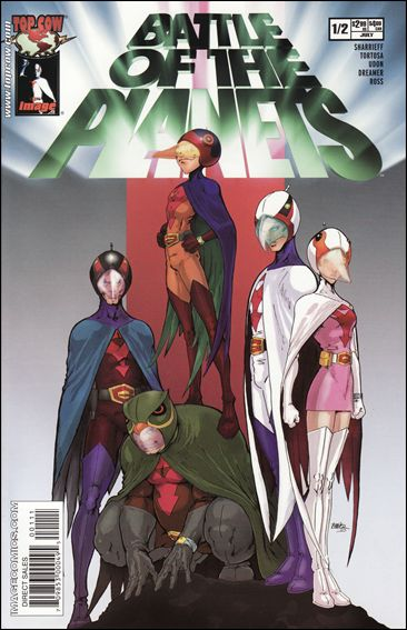 Battle of the Planets (2002) 1/2-E by Top Cow