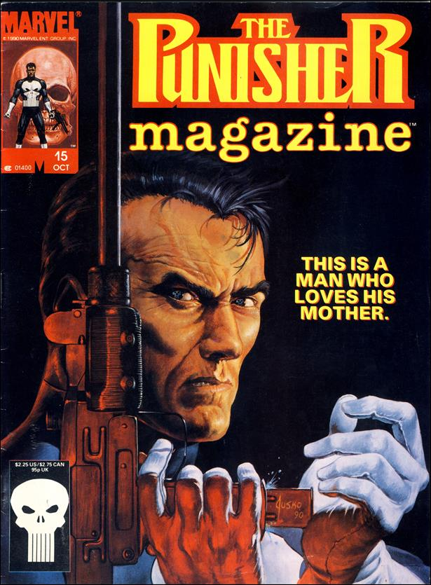 Punisher Magazine 15-A by Marvel