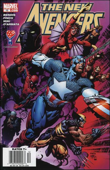 New Avengers (2005) 12-B by Marvel