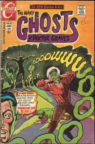 Many Ghosts of Dr. Graves 26-A by Charlton