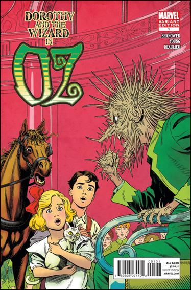 Dorothy & the Wizard in Oz 1-B by Marvel