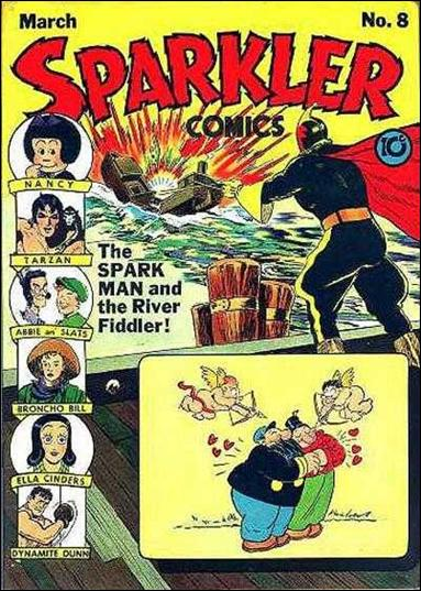 Sparkler Comics (1941) 8-A by United Features Syndicate