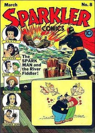Sparkler Comics (1941) 8-A