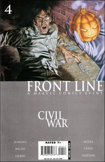 Civil War: Front Line 4-A by Marvel