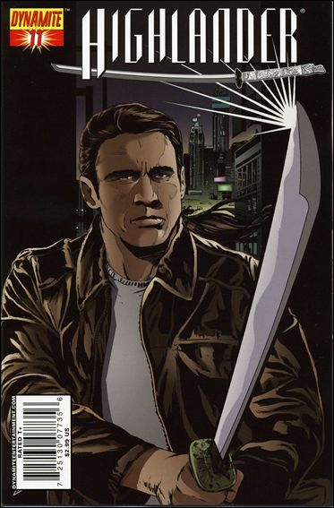 Highlander 11-B by Dynamite Entertainment