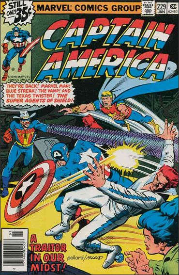 Captain America (1968) 229-A by Marvel