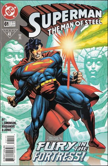 Superman: The Man of Steel 61-B by DC